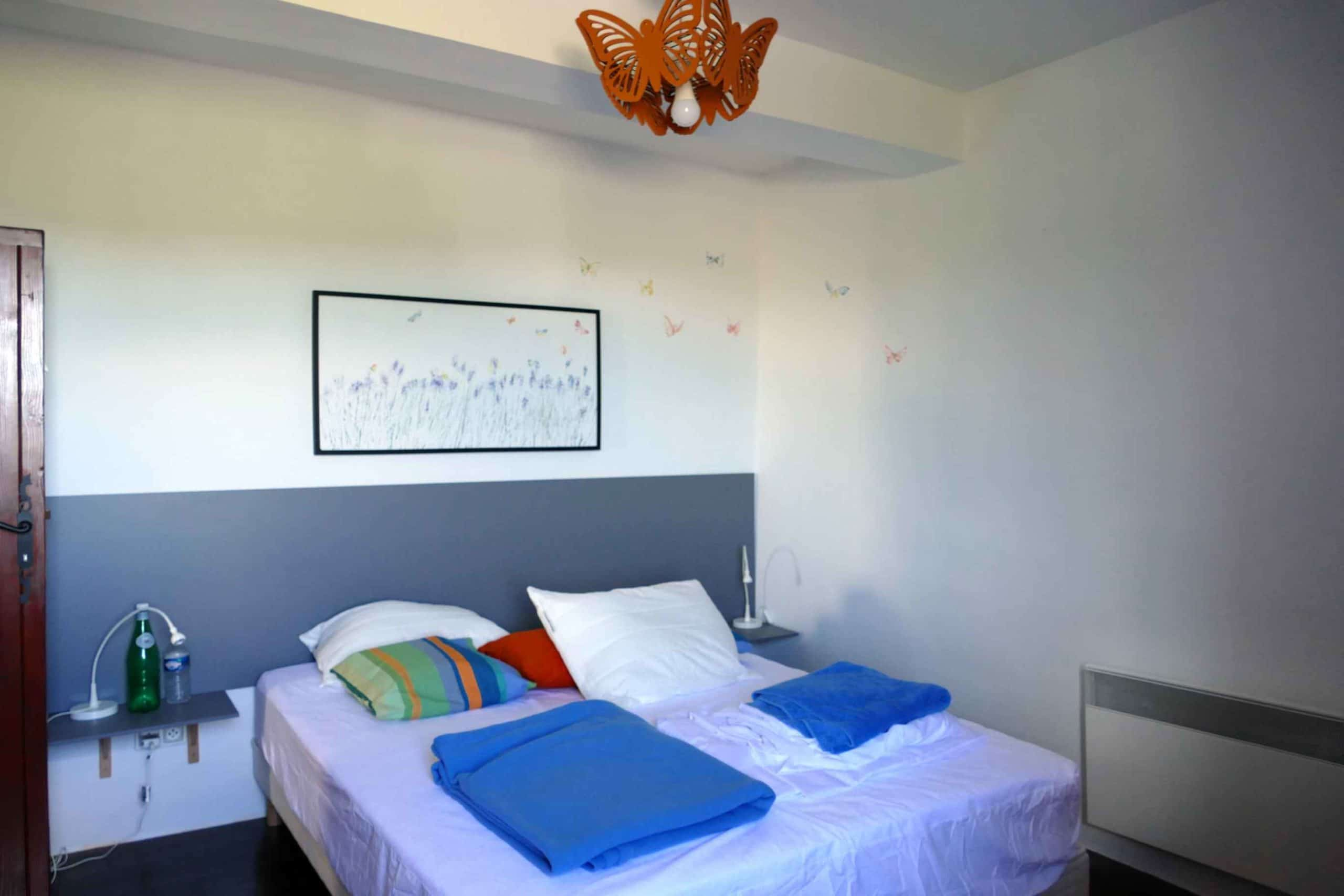 La chambre aux papillons