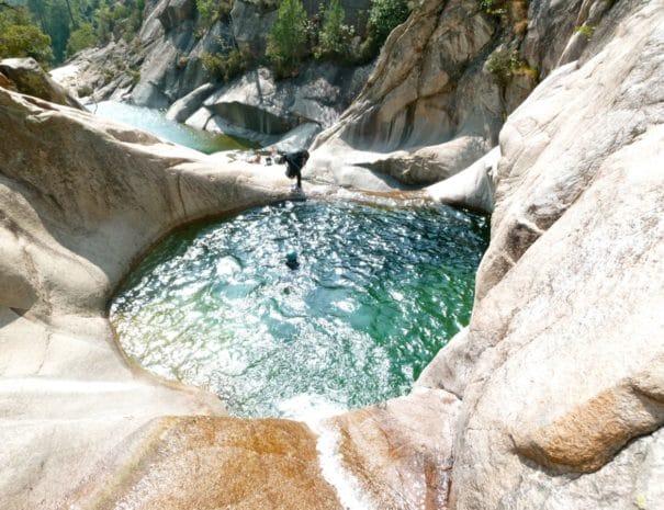 Canyonning: sensation assurée en Vallespir !