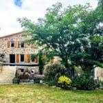 Jardin devant Can Bassou et Dama Jana