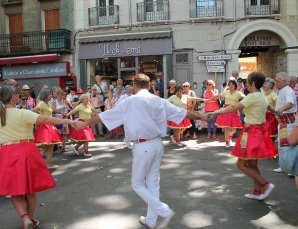 Sardanes populaires en Vallespir