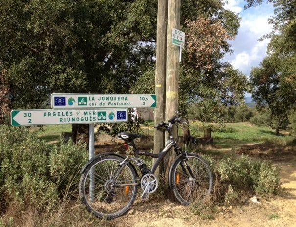 Randonnée en vélo en Vallespir